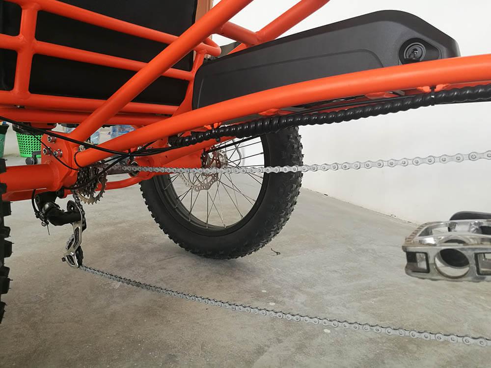 Casual style Rhino 24'' & 20'' Fat E-trike