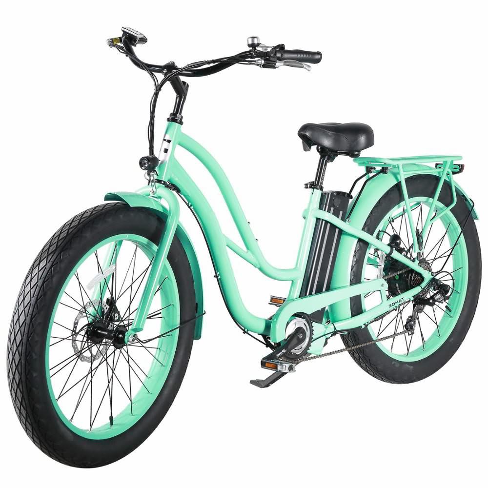 Beach Cruiser Type 26 '' Fat E-bike za žene model green3