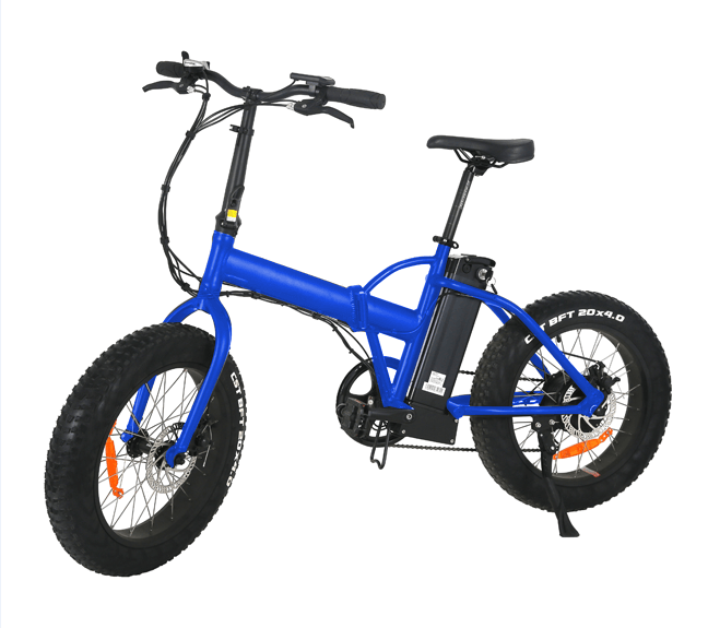"Moka 20"" Folding Fat E-bike"