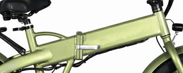 1Fat E-bike\Rifle 20'' Battery Hidden Folding Fat E-bike