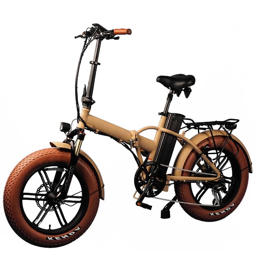 "Moka 20"" Folding Fat E-bike"