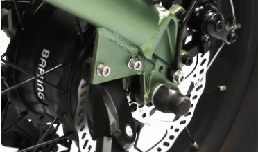 Fat E-bike\Rifle 20'' Battery Hidden Folding Fat E-bike 3