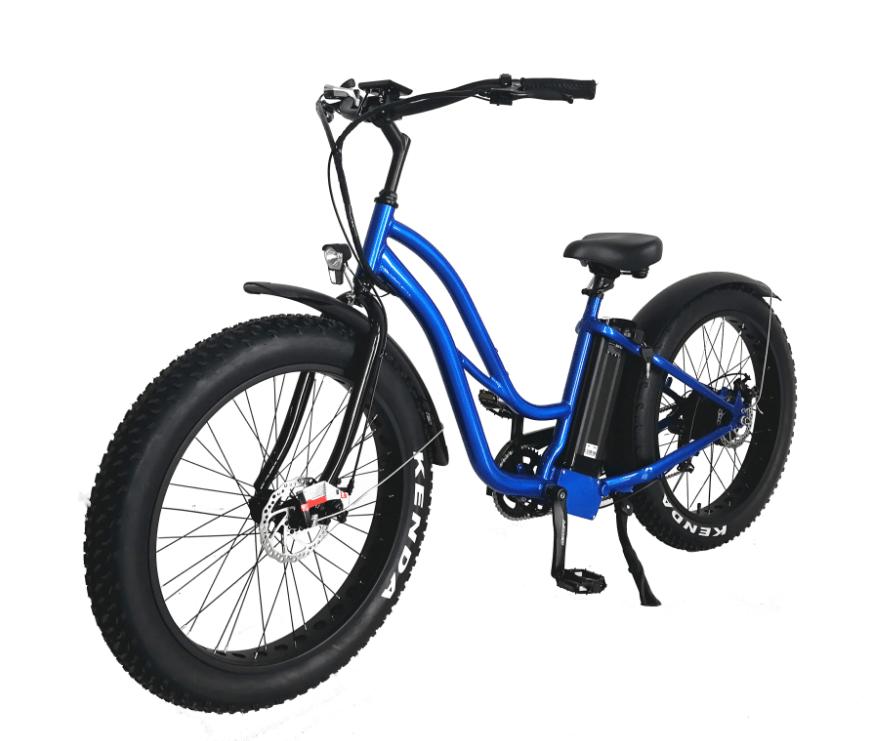 بيتش كروزر نوع 26 '' فات الدراجة الإلكترونية للنساء نموذج 2