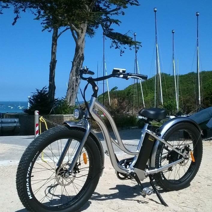 Beach Cruiser Type 26 '' Fat E-bike za ženski model