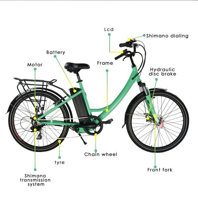 Cr26A city bike (7)